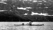 Kayaking in Blackstone Bay, in Prince William Sound (2010).