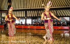 Traditional Javanese classical dancers, Yogyakarta