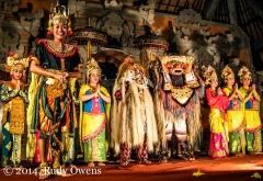 Kecak performers, Ubud, Bali