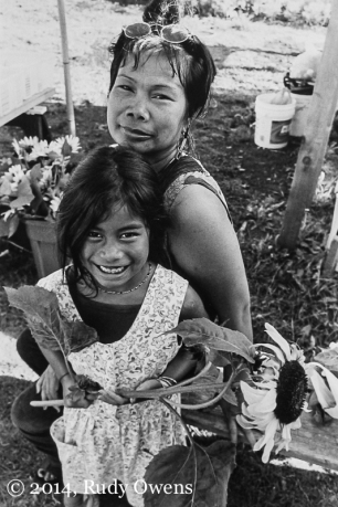 In 2002 I met this mother and daughter at the old community garden in High Point, before it was remodeled, as part of my Community Support Agriculture documentary project that I completed shortly after. This is one of my favorite portraits of a mother and daughter I have.