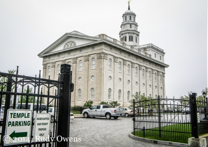 The Nauvoo Temple was rebuilt and opened in 2002, more than 150 years after it was burned by arson. As with all LDS temples, non-believers are not allowed inside.