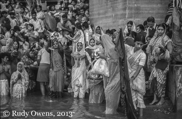 Karva Chauth festival, Varanasi, India, October 1989