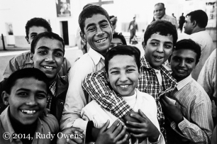 I met these Coptic young men at Meir Gergis, near Luxor, in December 2004. Copts are some of the world's oldest Christians, and they number about one in ever five Egyptians, and yet have faced persecution and discrimination for decades, and at times violent attacks at their places of worship.