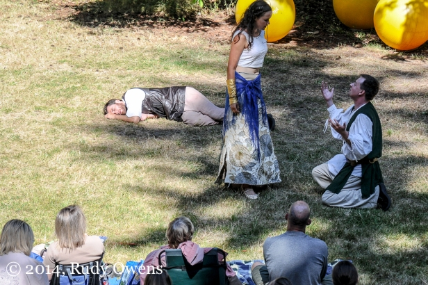 Seattle's amazing GreenStage company perform William Shakespeare's A Midsummer Night's Dream in 2013 in Seattle's Discovery Park.