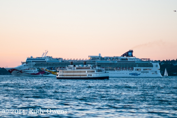 The Bahamas'-flagged Norwegian Jewel sets sail for the pristine waters of Alaska in July 2014.