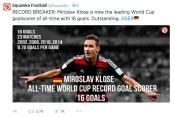 Klose Record Breaker