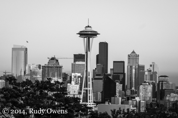 Taken from Seattle's Kerry Park on July 7, 2014.