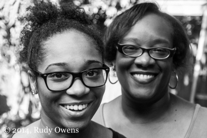 This is from my latest shoot of mothers and daughters, in black and white.