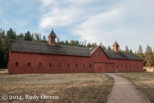 The stables is one of the few remaining buildings from the old military fort dating from 1880.