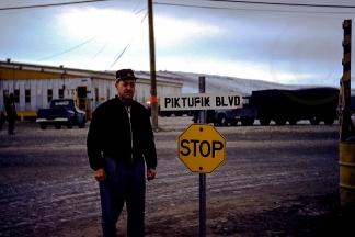 Vyrl Owens in Thule, Greenland