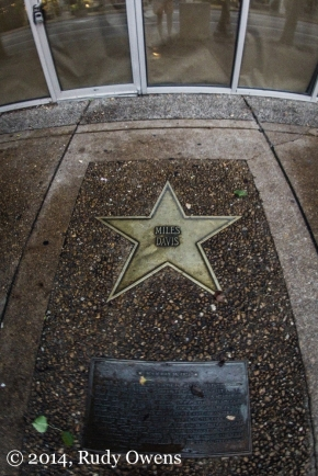 Miles Davis Star, Walk of Fame