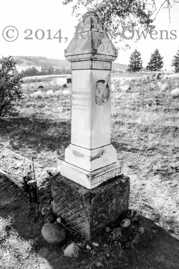 Chief Joseph Grave