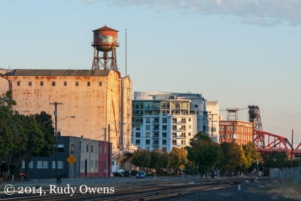 Downtown Development off Naito Parkway