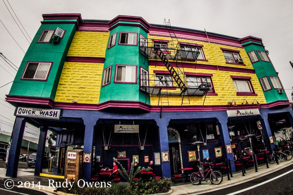 Colorful Portland Building