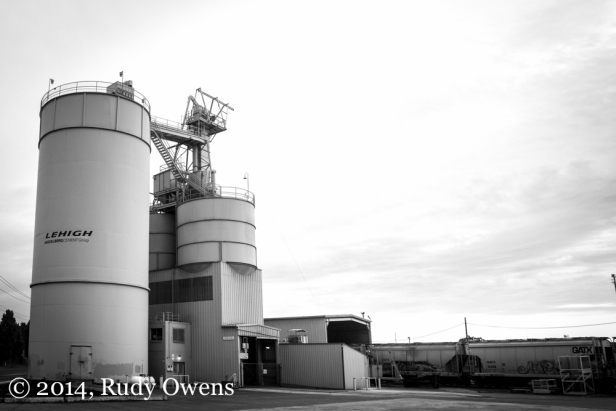 Portland Cement Kiln : Cement kiln southeast portland what beautiful light