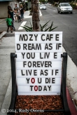 Mozy Cafe, Leucadia, California