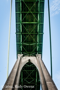 St. John's Bridge, Portland