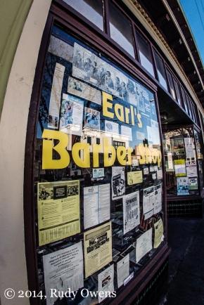Earl's Barber Shop Alberta Street