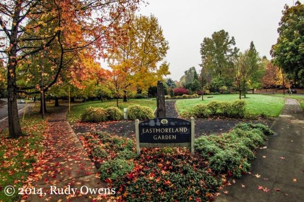 Eastmoreland Garden Photograph