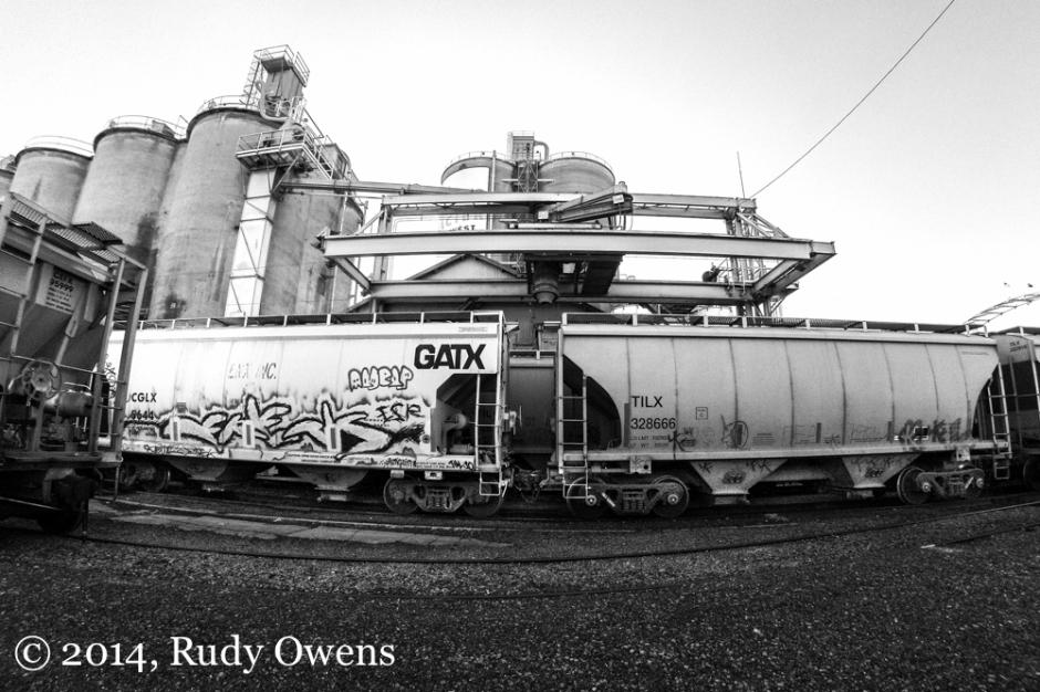 Rail Cars and Kiln, Portland