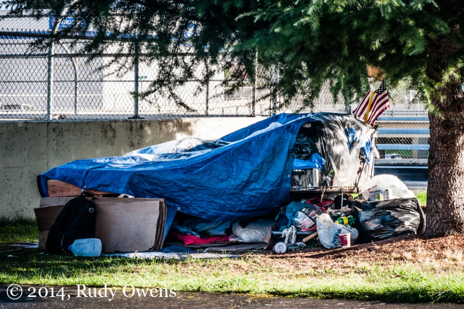 Homeless Shelter in Portland Photo