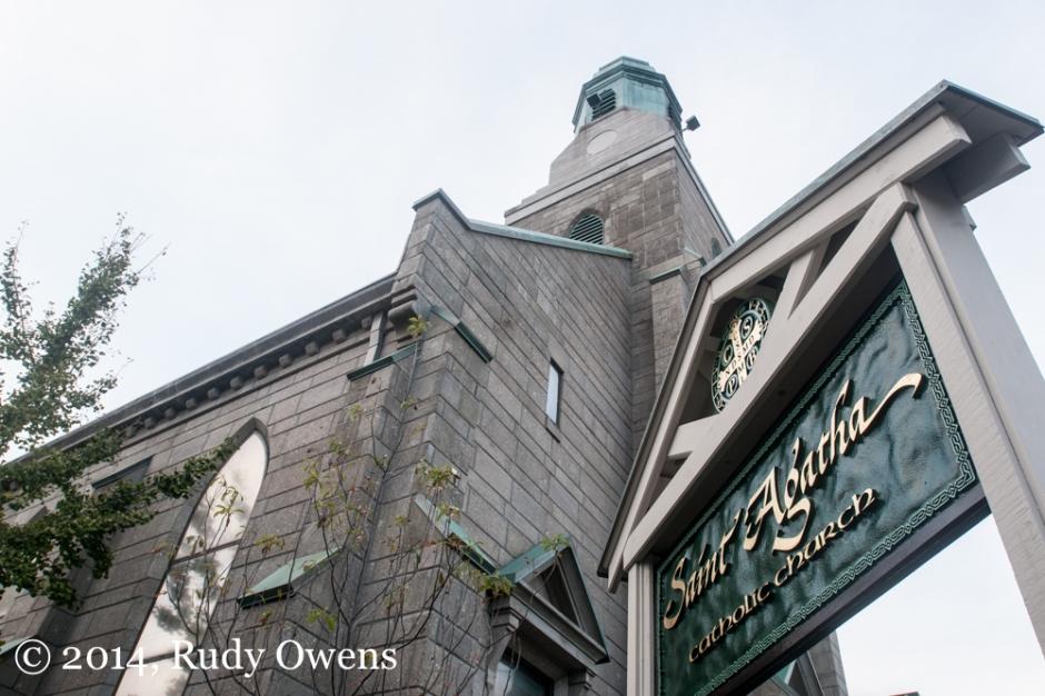 St. Agatha Church Portland Photograph