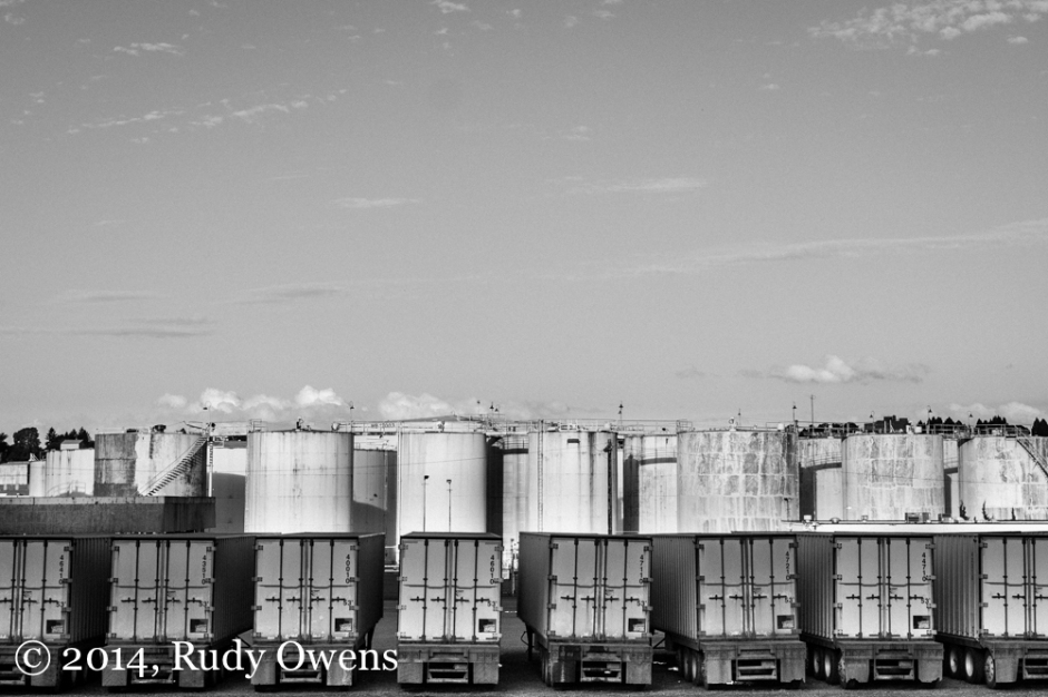 Truck and Storage Tank Picture Portland