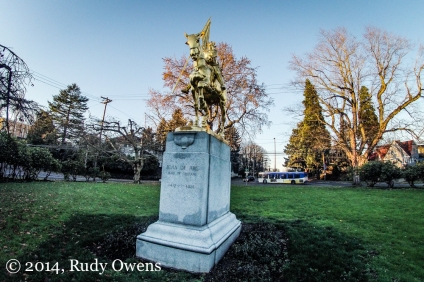 Joan of Arc Statue Portland Photograph