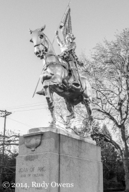 Joan of Arc Statue, Portland Photo
