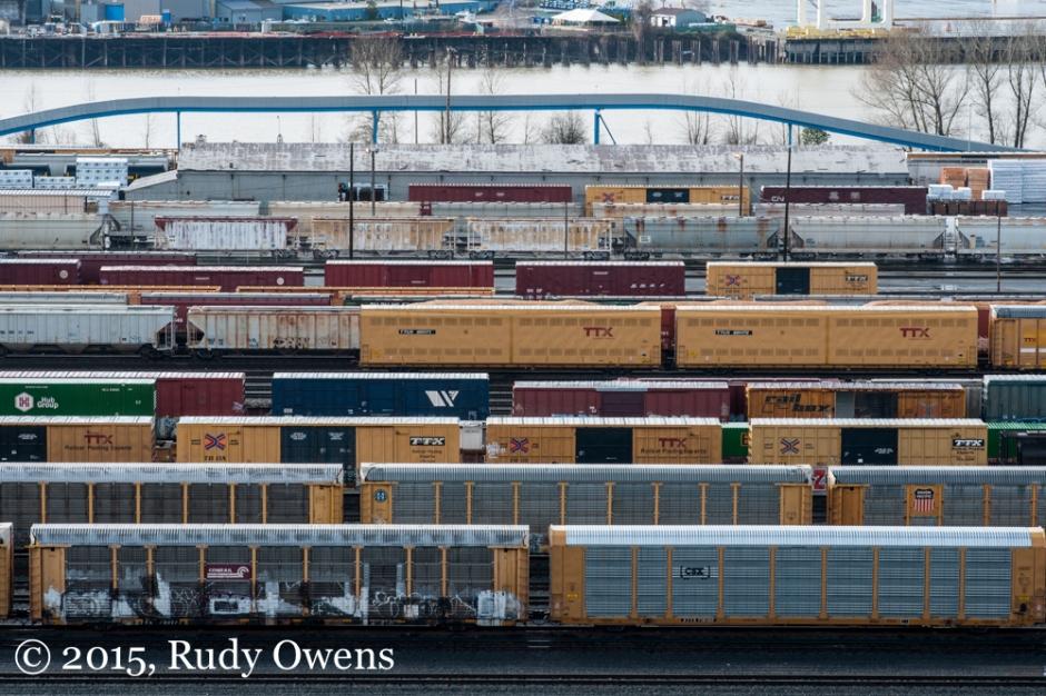 Portland Railyards Photo