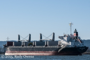 Cargo Ship Photo Columbia River