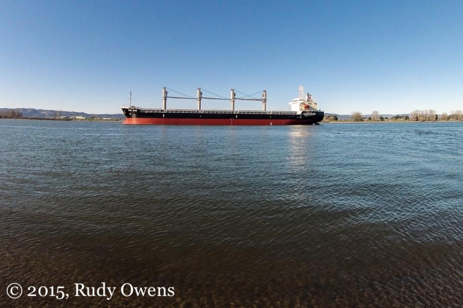 Cargo Ship Photo Columbia River