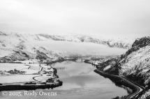 Columbia River Winter Photo