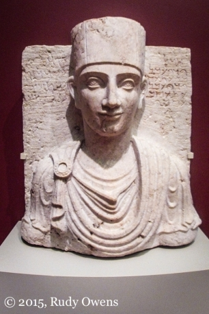 Roman Palmyriene Bust Photo