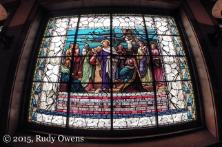 First Baptish Church Stained Glass