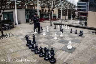 Downtown Portland Chess Set