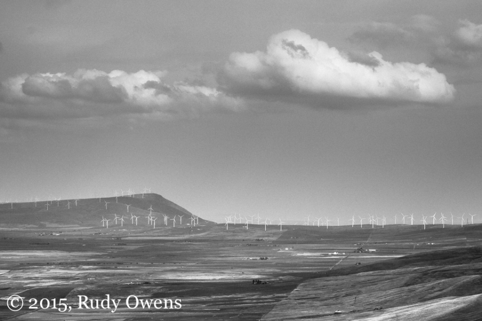 Columbia River HIlls Windfarms