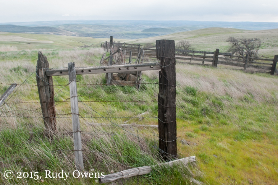 Dalles Mountain Ranch Overlook to the Columbia River Gorge