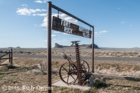 Sign at Fort Rock Homestead Village
