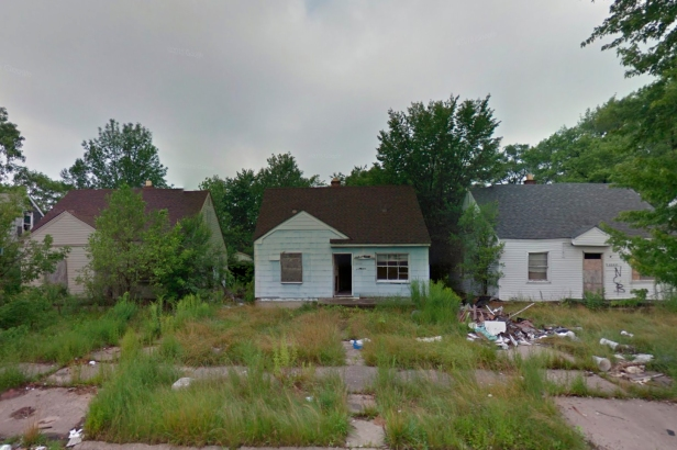 Detroit Home Decay