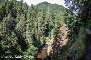 High Above Eagle Creek