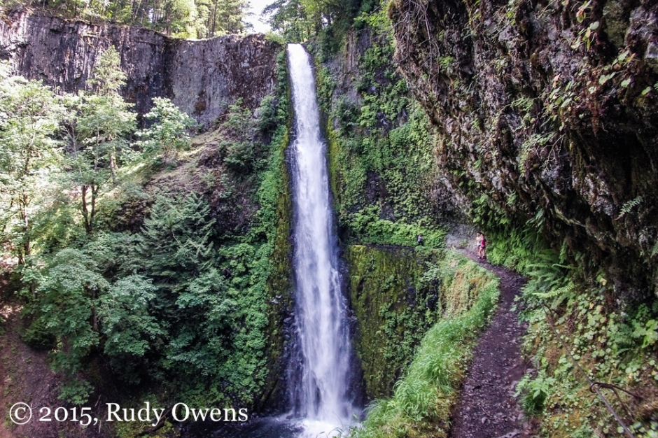 Tunnel Falls Eagle Creek