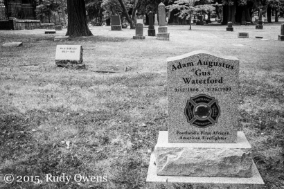 Gus Waterford, Portland's First African-American Firefighter