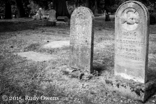 The Passage of Time Seen on Tombstones