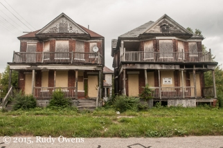 Duplexes Abandoned, East Detroit