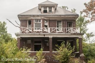 Eastside Home, Abandoned Detroit