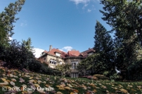 Pittock Mansion in Fall