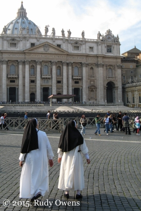 Nuns, and Perhaps Tourists Too, St. Peter's Square