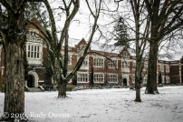 Reed College Greets New Year with Snow