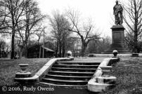 Thomas Hart Benton Statue, Lafayette Park